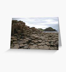 Giant's Causeway Greeting Card
