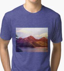 Lake By the Mountains Tri-blend T-Shirt