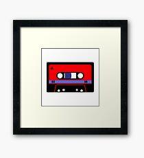 Vintage 1980's Cassette Tape Framed Print