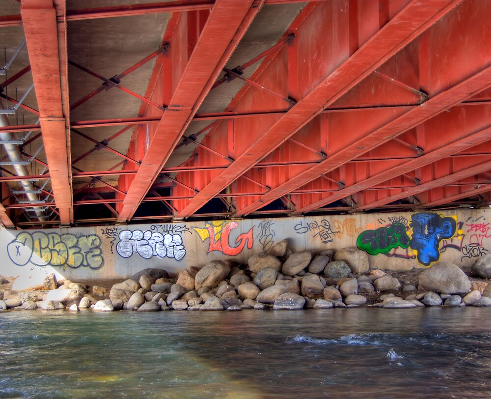 Art Under the Bridge by renofog