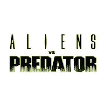 AVP, Alien Vs Predator Logo by 411drpkv4c
