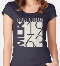 I Have A Dream Martin Luther King Jr. 1963  Women's Fitted Scoop T-Shirt