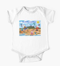 Fun In The Sun: Northumberland Coast One Piece - Short Sleeve