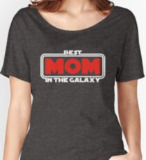 Best Mom in the Galaxy (dark) Women's Relaxed Fit T-Shirt