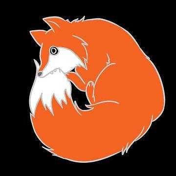 Occult Trash - Ouroboros Fox by occulttrash