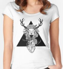 Entangled  Women's Fitted Scoop T-Shirt