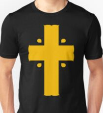 Non-denominational yellow cross T-Shirt