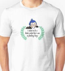 The Lazy Artist Haiku 2 Unisex T-Shirt