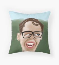 Squints hearts Wendy Throw Pillow