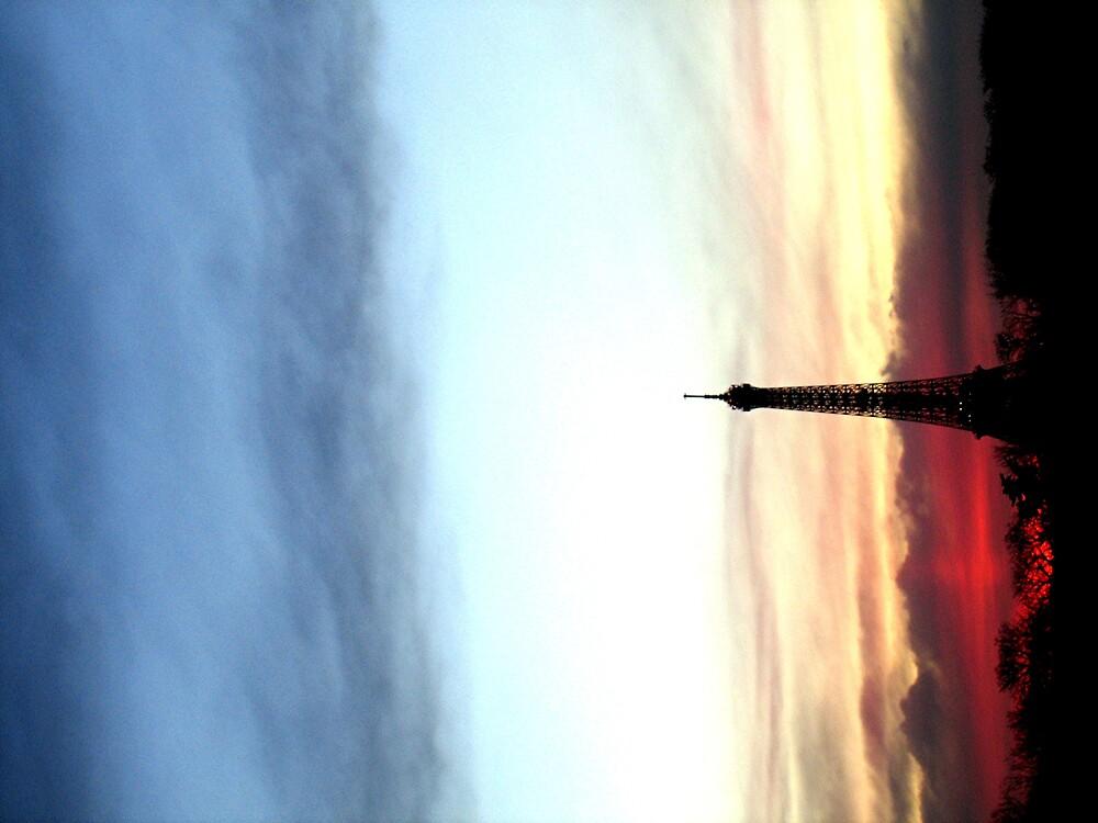 red sky by david stevenson