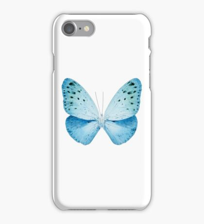 MISS BUTTERFLY EUPLOEA X-RAY White Edition iPhone Case/Skin