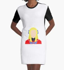 Karin Vector Graphic T-Shirt Dress