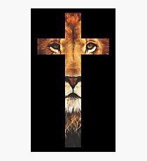 Lámina fotográfica Christian Cross