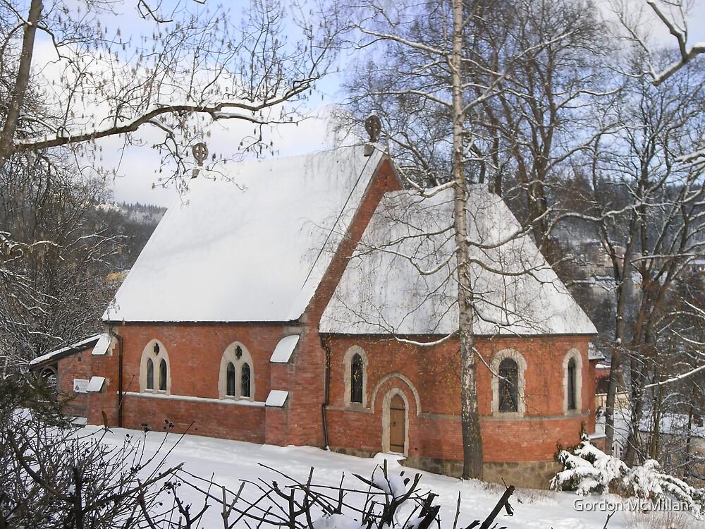 Anglican Chapel in Marianske Lazne (Marienbad) by Gordon McMillan