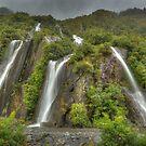 Trident Creek Falls, New Zealand by Kevin McGennan
