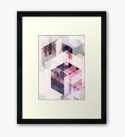 Graphic 166  Framed Print