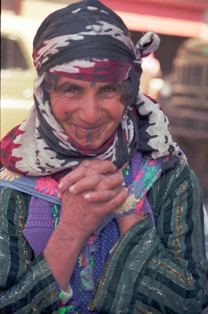 Syrian (Berber) woman by jensNP