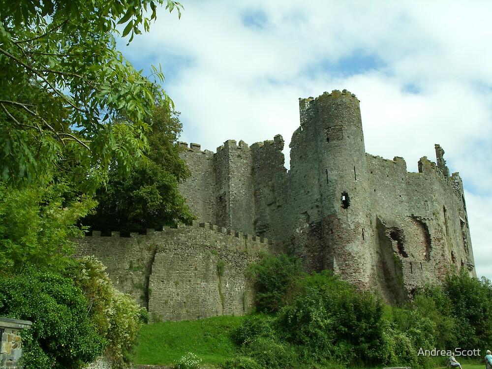 castle turrets by Andrea Scott
