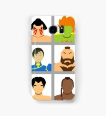 Select Your Character - Street Fighter 2: The New Challengers Samsung Galaxy Case/Skin