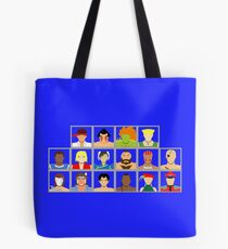 Select Your Character - Street Fighter 2: The New Challengers Tote Bag