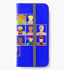 Select Your Character - Super Street Fighter 2 Turbo iPhone Wallet/Case/Skin