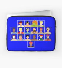 Select Your Character - Super Street Fighter 2 Turbo Laptop Sleeve