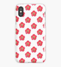Jhope Chuseok Flower (White) iPhone Case/Skin