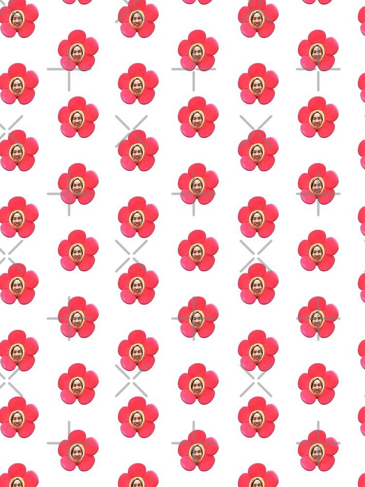 Jhope Chuseok Flower (Blanco) de Briana8