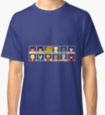 Select Your Character - Street Fighter 2 Champion Edition Classic T-Shirt