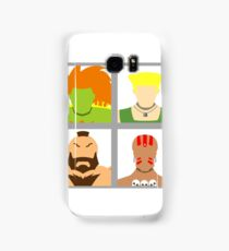 Select Your Character - Street Fighter 2 Champion Edition Samsung Galaxy Case/Skin