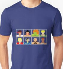 Select Your Character - SF2 T-Shirt