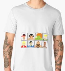Select Your Character - SF2 Men's Premium T-Shirt