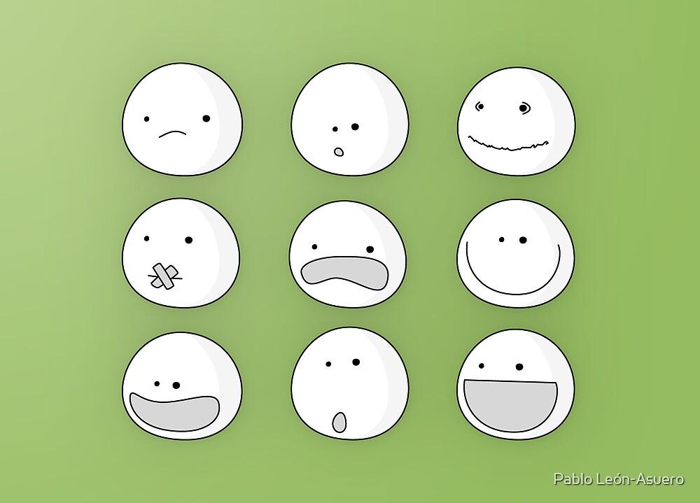 Faces (Card) by Pablo León-Asuero