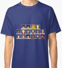 Select Your Character - Street Fighter 2: The New Challengers Classic T-Shirt