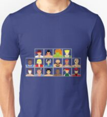 Select Your Character - Street Fighter 2: The New Challengers Unisex T-Shirt