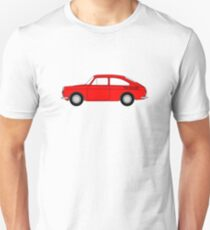 VW Type 3 Red Unisex T-Shirt