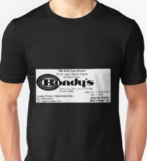 BONDYS RECORDS Unisex T-Shirt