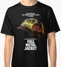 Full Metal Jacket White Classic T-Shirt