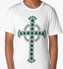 Celtic Cross Long T-Shirt