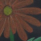 Orange Daisy by Maryanne Lawrence