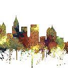 Atlanta, Georgia Skyline - SG - Safari Buff von Marlene Watson