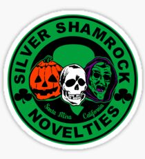Silver shamrock Sticker