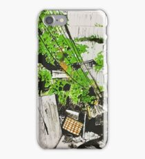 Quill and ink encounter iPhone Case/Skin