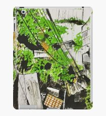 Quill and ink encounter iPad Case/Skin