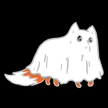 Occult Trash - Sheet Ghost Fox by occulttrash
