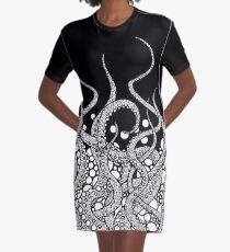 Tentacles Graphic T-Shirt Dress