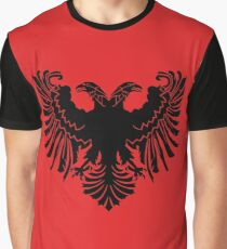 Albanian Flag Graphic T-Shirt