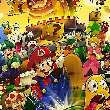 Mario by saikoy