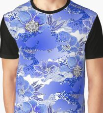 Abstract anemone pattern Graphic T-Shirt