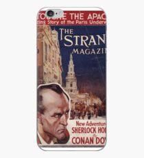 Sherlock Holmes  - The Strand Magazine Cover - Vintage Print iPhone Case